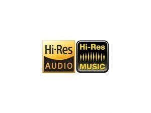 Hi-Res Audio and Hi-Res Music Logo