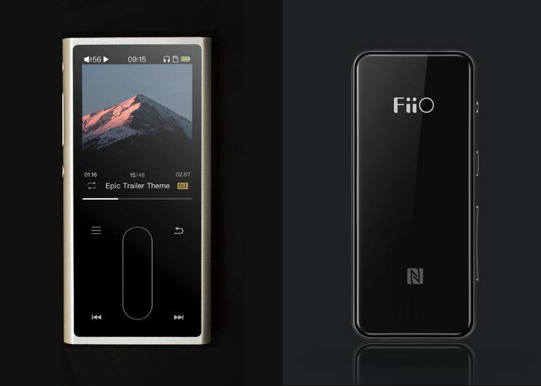 FiiO M3K DAP and BTR3 Bluetooth receiver