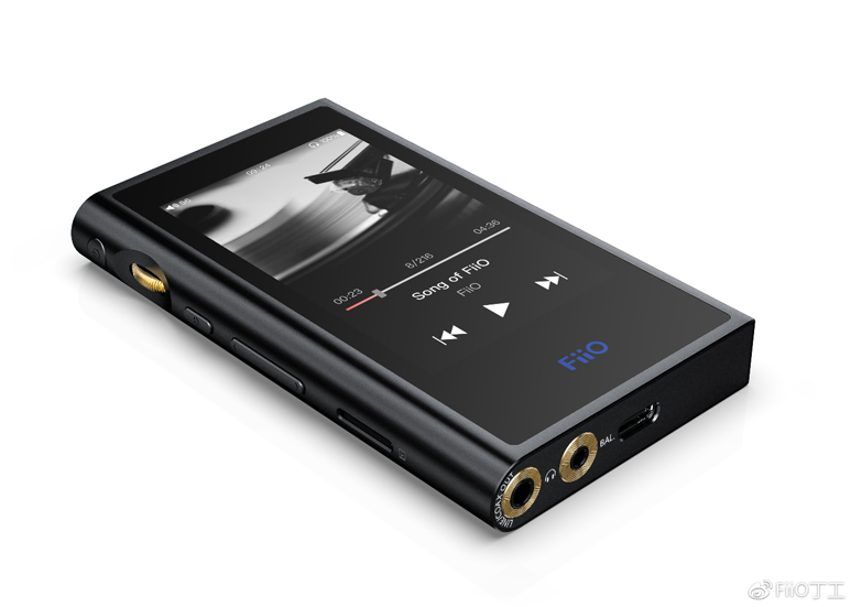 Side View of the FiiO M9