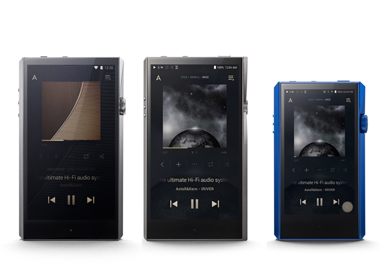 Astell&Kern High-Resolution Portable Audio Line