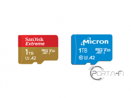 1TB microSD from Micron and Sandisk