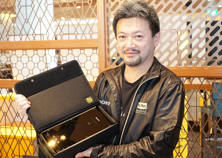• Tomoaki SATO [TS], Walkman® Project Leader/Senior Electrical Engineer with the Sony DMP-Z1