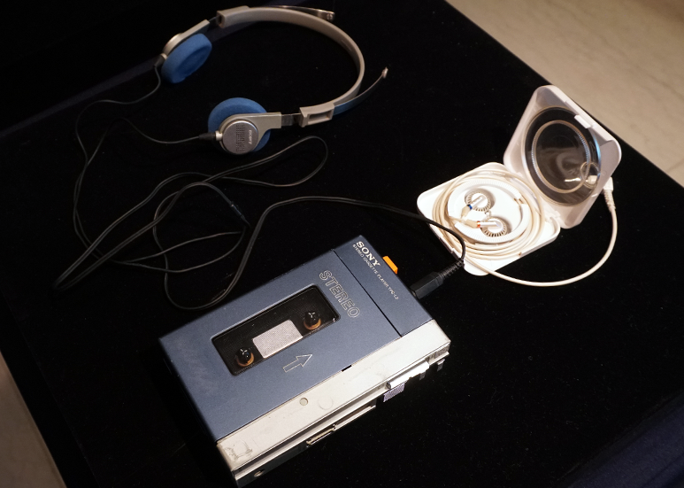 Sony MDR-3 with TPS-L2 Walkman