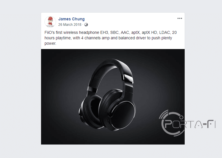 FiiO EH3 First Product Render