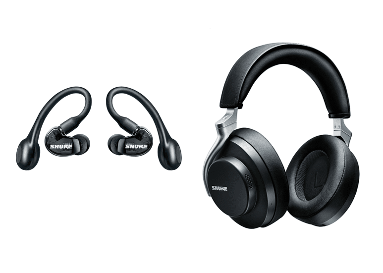 Shure AONIC 215 and AONIC 50