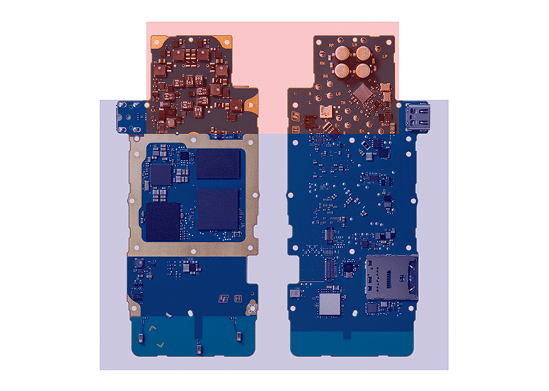 Sony NW-ZX507 Circuit Board Layout