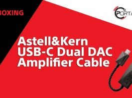 Astell&Kern USB-C Dual DAC Amplifier Cable Unboxing
