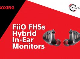 FiiO FH5s Unboxing