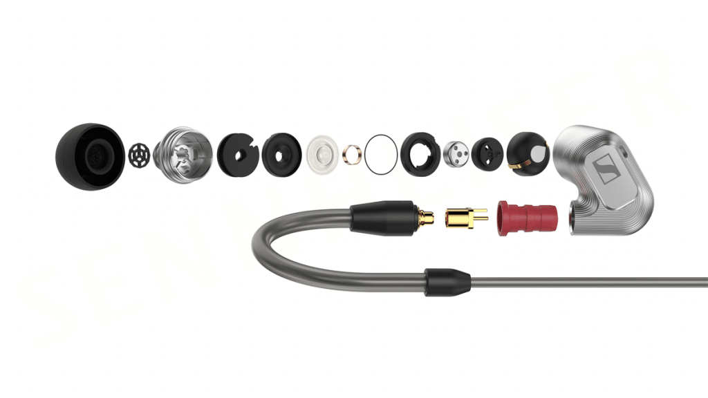 Sennheiser IE 900 - Exploded view of the IE 900